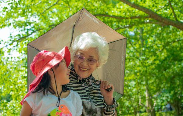 積み木と孫とおばあちゃんと
