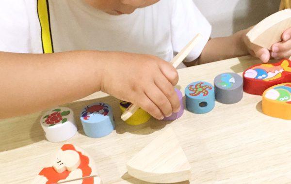 子どもの創造力は無限大! 〜積み木とおままごとのコラボ〜