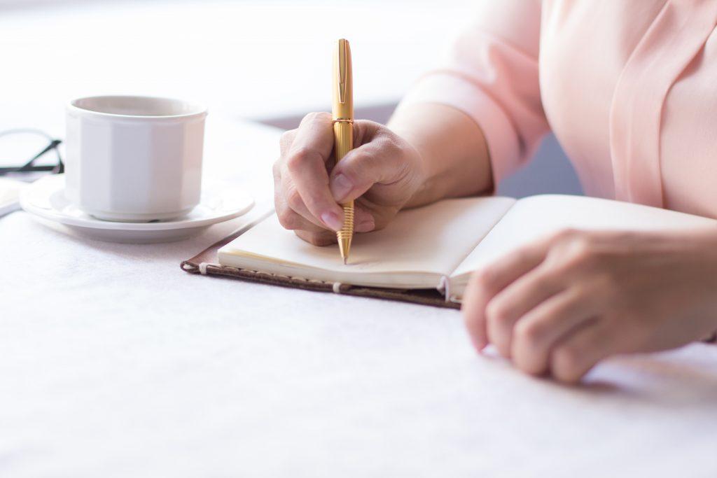 手書きでプランを考える