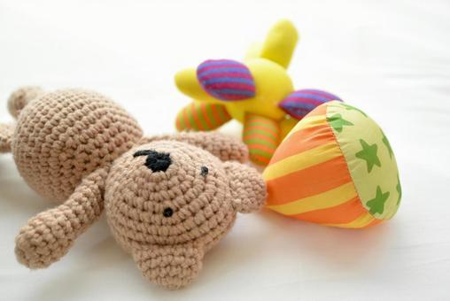 子どもが遊ぶおもちゃ